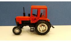 Трактор мтз-82 'Беларус' (красный) масштаб 1:43, масштабная модель трактора, scale43