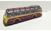 Автобус HENSCHEL HS 100 N 1953 Yellow/Brown 1:72 Atlas металл 7163103 Хеншель Bus Collection, масштабная модель, scale72