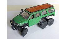 УАЗ Патриот 6х6. 1:43, масштабная модель, scale43