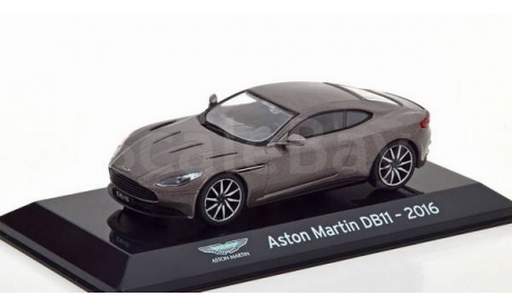 Aston Martin DB11 - grey, масштабная модель, Altaya, scale43