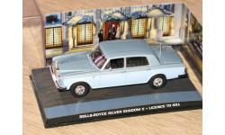 Rolls Royce Silver Shadow II Bond Collection, масштабная модель, The James Bond Car Collection (Автомобили Джеймса Бонда), scale43, Rolls-Royce