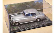 1/43 Rolls Royce Silver Cloud Bond, масштабная модель, Rolls-Royce, The James Bond Car Collection (Автомобили Джеймса Бонда), scale43