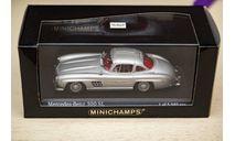 1/43 Mercedes-Benz 300 SL Minichamps, масштабная модель, 1:43