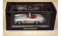 1/43 Mercedes-Benz 300 SL Roadster Minichamps, масштабная модель, scale43