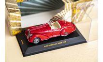 1/43 Alfa Romeo 8c 2900B 1938, масштабная модель, IXO Museum (серия MUS), scale43