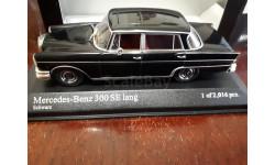 Mercedes 300 SE Lang W111 1965 Minichamps 1:43, масштабная модель, Mercedes-Benz, 1/43