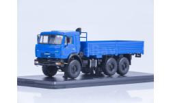 КамАЗ-43118 6х6 бортовой (синий)