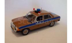 Mercedes-Benz W123 (Госавтоинспекция СССР) (модель+журнал), журнальная серия Полицейские машины мира (DeAgostini), Полицейские машины мира, Deagostini, 1:43, 1/43
