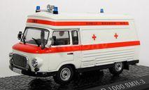 Barkas B 1000 SMH-3 1983 (модель+буклет+папка), журнальная серия масштабных моделей, Atlas, scale43