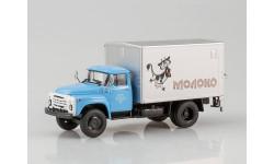 Фургон с грузоподъёмным бортом У-165 Молоко (на шасси ЗИЛ-130), масштабная модель, Автоистория (АИСТ), 1:43, 1/43