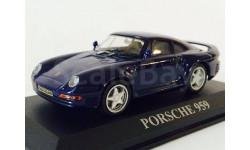 Porsche 959 Coupe 1986 (модель), журнальная серия масштабных моделей, Altaya / IXO, 1:43, 1/43