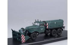 Д-470 шнекороторный снегоуборочный автомобиль (на шасси ЗИЛ-157Е), зелёный, масштабная модель, Start Scale Models (SSM), scale43