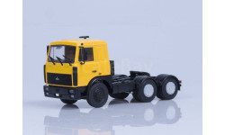 МАЗ-6422 седельный тягач (поздняя кабина, желтый), масштабная модель, Автоистория (АИСТ), 1:43, 1/43