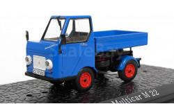Multicar M22 (бортовой) 1964 (модель+буклет), журнальная серия масштабных моделей, Atlas, 1:43, 1/43