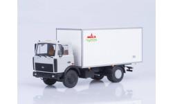 Изотермический фургон КИ-5436 Купава (МАЗ-5337), масштабная модель, Автоистория (АИСТ), 1:43, 1/43