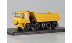 КамАЗ-6540 8х4 самосвал (рестайлинг), масштабная модель, Start Scale Models (SSM), 1:43, 1/43