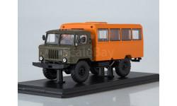 Вахтовый автобус (ГАЗ-66), масштабная модель, Start Scale Models (SSM), 1:43, 1/43