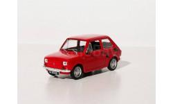 FIAT 126P (модель+журнал), журнальная серия Kultowe Auta PRL-u (Польша), DeAgostini-Польша (Kultowe Auta), scale43