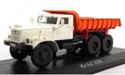 KrAZ-256 (самосвал) 1966 (модель+буклет), журнальная серия масштабных моделей, КрАЗ, Atlas, scale43