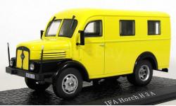IFA Horch H3A (фургон) 1950 (модель+буклет), журнальная серия масштабных моделей, Atlas, 1:43, 1/43