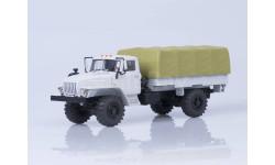 УрАЛ-43206 4х4 бортовой с тентом, масштабная модель, Автоистория (АИСТ), 1:43, 1/43