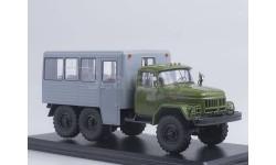 ЗиЛ-131 вахтовый автобус (хаки-серый), масштабная модель, Start Scale Models (SSM), 1:43, 1/43
