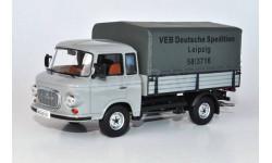 Barkas B1000 Pritsche/Plane (Deutsche Spedition Leipzig), масштабная модель, IST Models, 1:43, 1/43