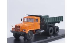 КРАЗ-256Б1 самосвал (оранжево-зелёный), масштабная модель, Start Scale Models (SSM), 1:43, 1/43