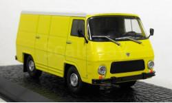 Autobuzul Rocar TV 12 F (фургон) 1973 (модель+буклет), журнальная серия масштабных моделей, Multicar, Atlas, 1:43, 1/43