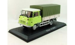 Robur LD 3001 (бортовой грузовик 4х2) (модель+буклет), журнальная серия масштабных моделей, Atlas, 1:43, 1/43