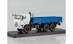 КамАЗ-43118 6x6 бортовой (рестайлинг), масштабная модель, Start Scale Models (SSM), 1:43, 1/43