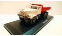 KrAZ-256 (самосвал) 1966 (модель+буклет), журнальная серия масштабных моделей, КрАЗ, Atlas, 1:43, 1/43