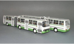 Ikarus 280.33 (бело-зеленый) Vector-Models, масштабная модель, 1:43, 1/43
