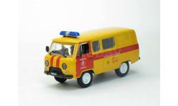 УАЗ-3909 'Аварийная газовая служба' (модель+журнал), журнальная серия Автомобиль на службе (DeAgostini), Автомобиль на службе, журнал от Deagostini, scale43