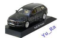 + Audi A6 Avant black Minichamps Yu_Ra, масштабная модель, 1:43, 1/43