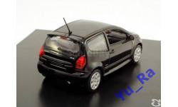 + Citroen C2 VTR black Norev кмк125 1:43 Yu_Ra, масштабная модель, scale43