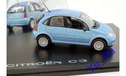 + Citroen C3 blue Norev кмк120 1:43 Yu_Ra, масштабная модель, scale43