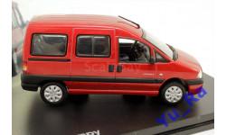 + Citroen Jumpy red Norev кмк126 1:43 Yu_Ra, масштабная модель, Citroën, 1/43
