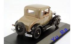 + Ford Model A Standard 1928 beige Minichamps кмк098 1:43 Yu_Ra