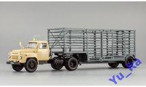+ ГАЗ-52-06 и полуприцеп-таровоз песочный с травлеными зеркалами DIP ДиП кмк069 Yu_Ra, масштабная модель, DiP Models, 1:43, 1/43