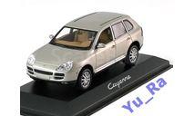 + Porsche Cayenne 2002 pearlsilver Minichamps Yu_Ra, масштабная модель, scale43