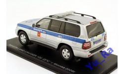 + Toyota Land Cruiser 100 ДПС Милиция Москва 2006 Spark A003 кмк095 1:43 Yu_Ra