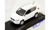 + Toyota RAV4 2006 white Minichamps Yu_Ra, масштабная модель, scale43