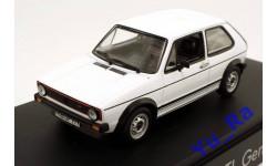 + VW Golf GTI generation I white Volkswagen Norev кмк111 1:43 Yu_Ra, масштабная модель, scale43