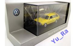 + VW Passat Variant 1974 yellow Volkswagen Minichamps кмк113 1:43 Yu_Ra