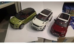 Модель 1:18 LAND RANGE ROVER EVOQUE 11003 GT Autos Welly
