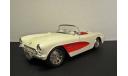 1957 Chevrolet Corvette BBurago 1:24 made in Italy, масштабная модель, 1/24