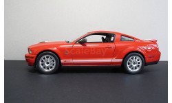 2007 Ford Shelby  GT-500 Welly 1:24, масштабная модель, scale24