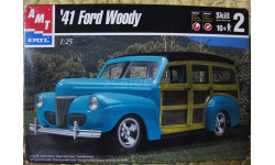1941 FORD Woody  AMT 1:25
