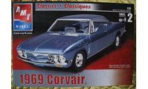 1969 Corvair  AMT 1:25, сборная модель автомобиля, Chevrolet, 1:24, 1/24